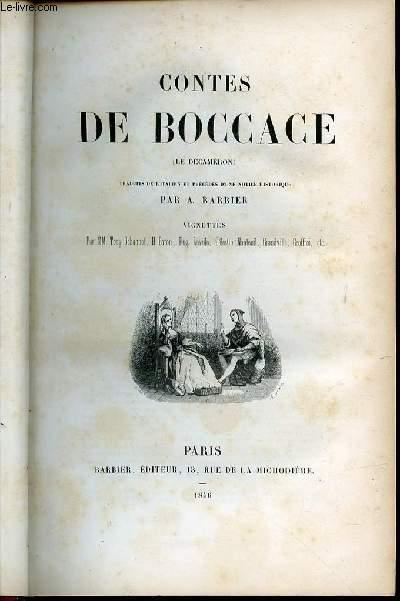 CONTES DE BOCCACE (LE DECAMERON).
