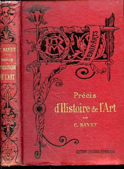 PRECIS D'HISTOIRE DE L'ART - Bibliothèque de l'Enseignement des Beaux-Arts.