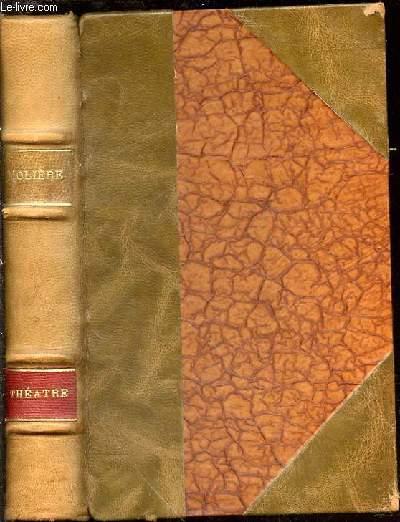 LE BOURGEOIS GENTILHOMME + LE MALADE IMAGINAIRE + LES PRECIEUSES RIDICULES - ILLUSTRATIONS DE CH. GENTY. LA BIBLIOTHEQUE PRECIEUSE.