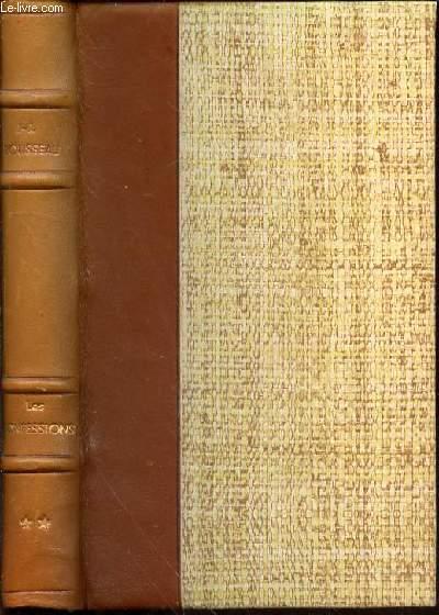 LES CONFESSIONS DE J.-J. ROUSSEAU : TOME 2 - COLLECTION