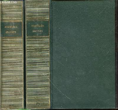 Oeuvres d'Andersen EN 2 TOMES (1+2) - TEXTES TRADUITS, PRESENTES ET ANNOTES PAR REGIS BOYER.
