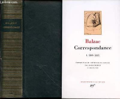 Correspondance - Tome I : 1809-1835.