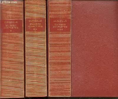 Oeuvres complètes EN 3 TOMES (1+2+3) - TEXTES ETABLIS, PRESENTES ET ANNOTES PAR GEORGES COUTON.