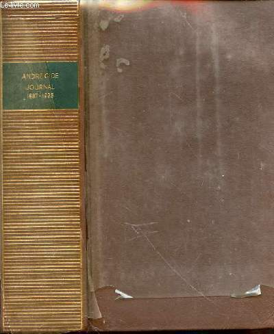 Journal - Tome 1 - 1887-1925