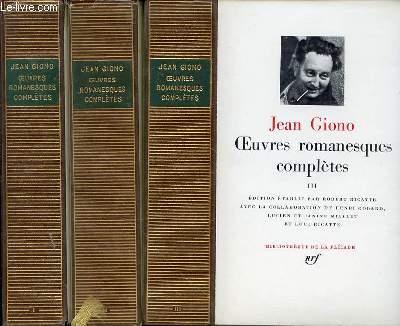 Oeuvres romanesques complètes EN 3 TOMES (1+2+3 - COMPLET).