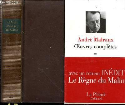 OEUVRES COMPLETES - TOME 3 : INTRODUCTION PAR MARIUS-FRANCOIS GUYARD / VOLUME PUBLIE PAR MARIUS-FRANCOIS GUYARD AVEC LA COLLABORATION DE JEAN-CLAUDE LARRAT ET FRANCOIS TRECOURT.