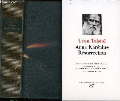 Anna Karénine - Résurrection.