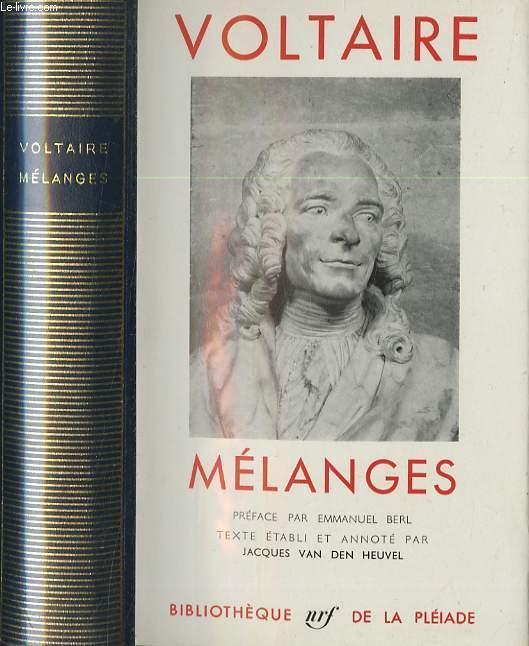 Mélanges - Préface par Emmanuel Berl, texte établi et annoté par Jacques Van Den Heuvel.