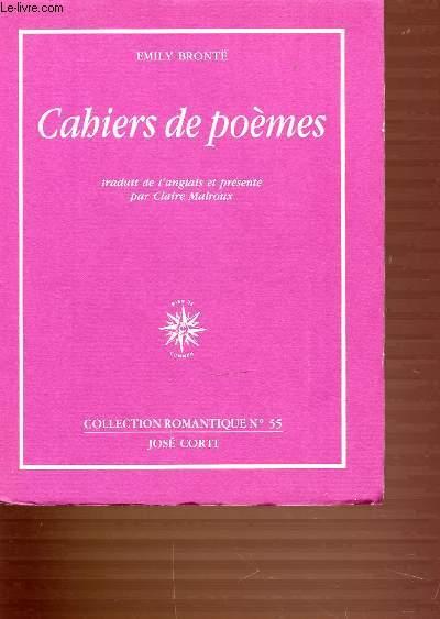 CAHIERS DE POEMES - COLLECTION ROMANTIQUE N°55