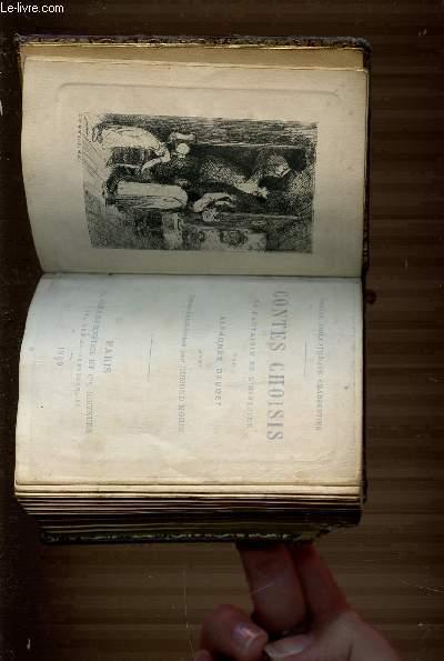 CONTES CHOISIS LA FANTAISIE ET L'HISTOIRE - PETITE BIBLIOTHEQUE CHARPENTIER.