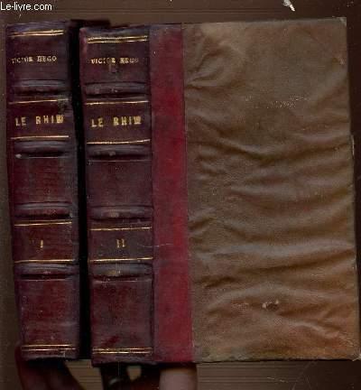 LE RHIN EN 2 VOLUMES : 1+2