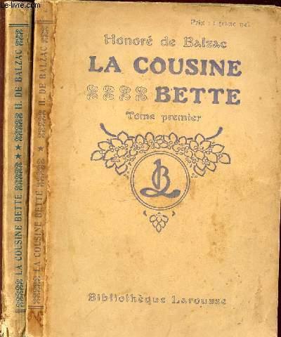 LA COUSINE BETTE EN 2 TOMES (1+2).