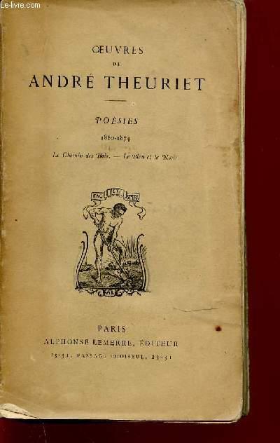 POESIES : 1860-1874 - LE CHEMIN DES BOIS, LE BLEU ET LE NOIR.