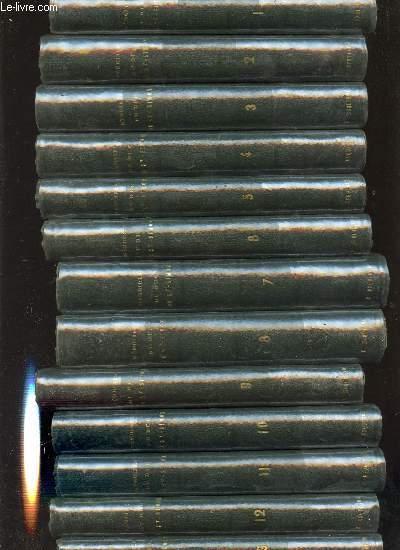 MEMOIRES COMPLETS ET AUTHENTIQUES DU DUC DE SAINT-SIMON SUR LE SIECLE DE LOUIS XIV ET LA REGENCE EN 13 VOLUMES (1+2+3+4+5+6+7+8+9+10+11+12+13) - COLLATIONNES SUR LE MANUSCRIT ORIGINAL PAR M. CHERUEL ET PRECEDES D'UNE NOTICE PAR M. SAINT-BEUVE.