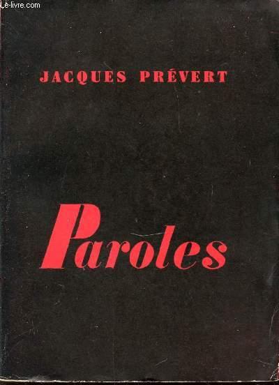 PAROLES.