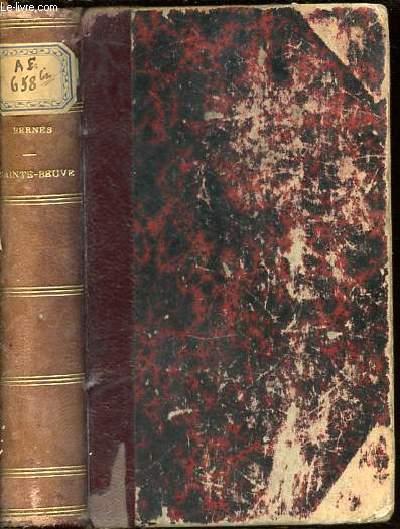 PAGES CHOISIES DE SAINTE-BEUVE. DEUXIEME EDITION.