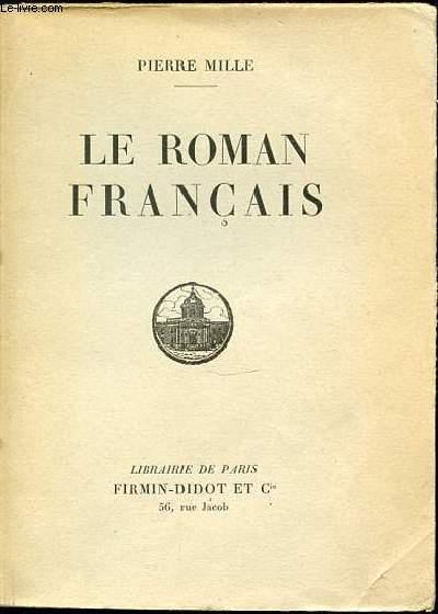 LE ROMAN FRANCAIS.