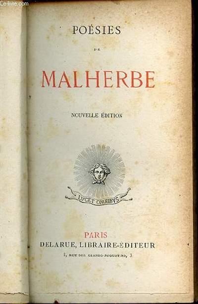 POESIES DE MALHERBE.