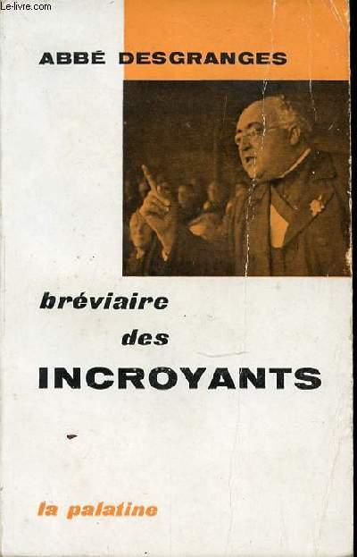 BREVIAIRE DES INCROYANTS.