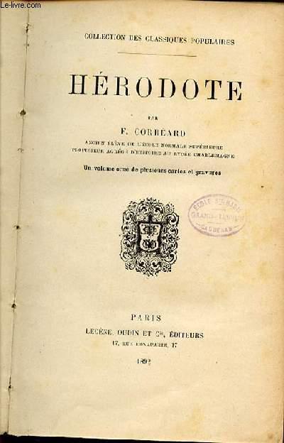 HERODOTE - COLLECTION DES CLASSIQUES POPULAIRES.