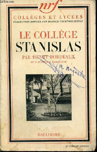 LE COLLEGE STANISLAS - COLLECTION