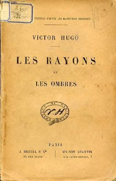 LES RAYONS ET LES OMBRES.