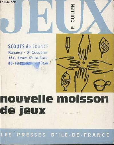 NOUVELLE MOISSON DE JEUX.