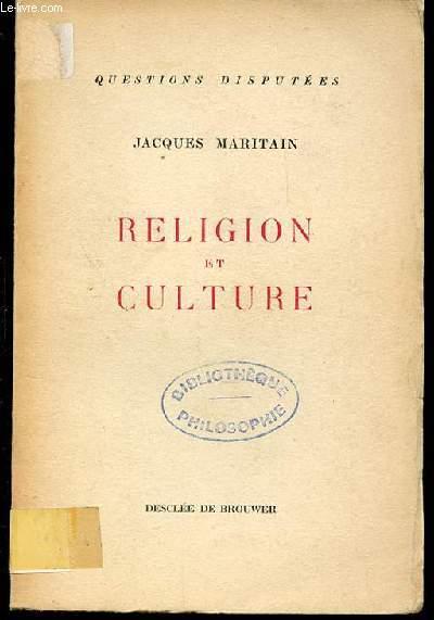 RELIGION ET CULTURE - COLLECTION