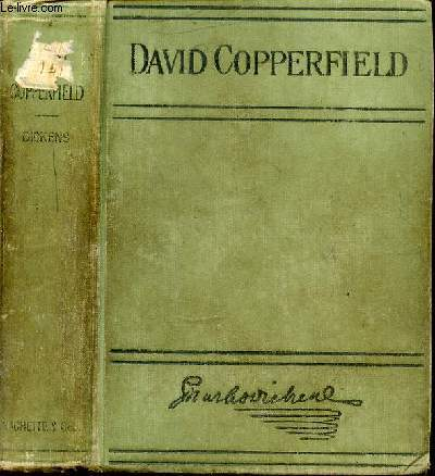 THE PERSONAL HISTORY OF DAVID COPPERFIELD.