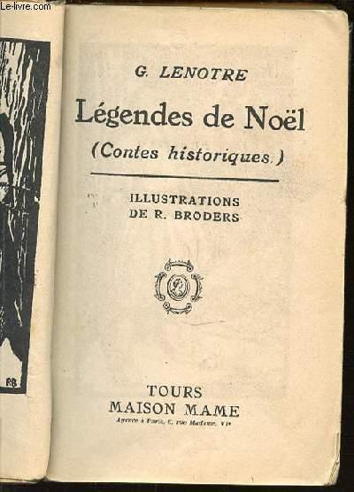 LEGENDES DE NOEL.