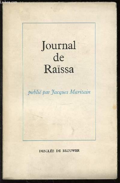 JOURNAL DE RAISSA.