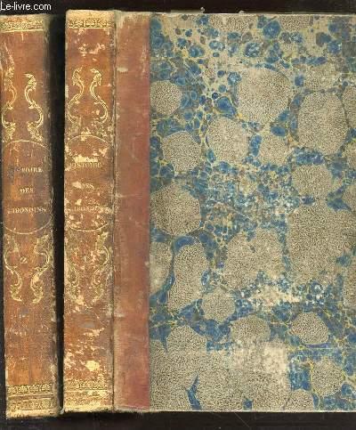 HISTOIRE DES GIRONDINS EN 2 TOMES : TOME 1 (CONTENANT LES VOLUMES I, II, III, IV) + TOME 2 (CONTENANT LES VOLUMES V, VI, VII, VIII).