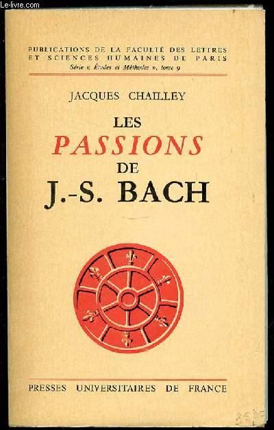 LES PASSIONS DE J-S. BACH - SERIE