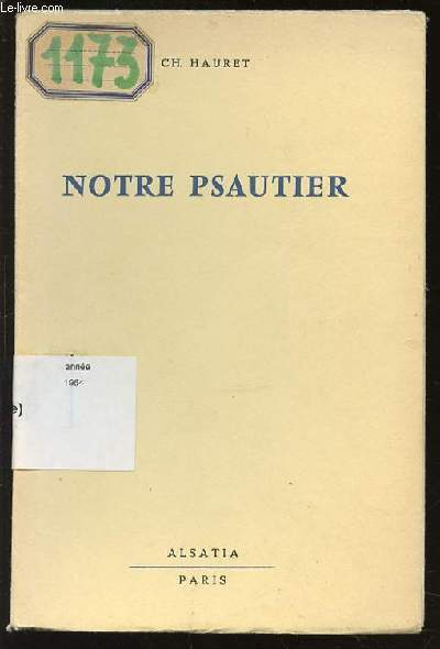 NOTRE PSAUTIER - COLLECTION