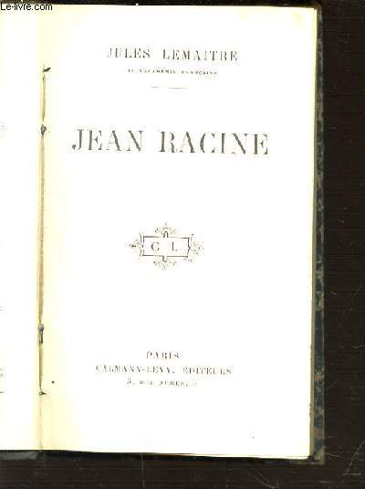 JEAN RACINE.