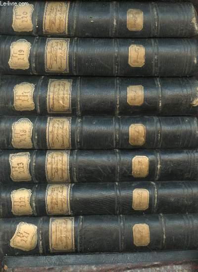 HISTOIRE DE LA MONARCHIE DE JUILLET EN 7 TOMES (1+2+3+4+5+6+7).