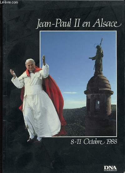 JEAN-PAUL II EN ALSACE - 8-11 OCTOBRE 1988.
