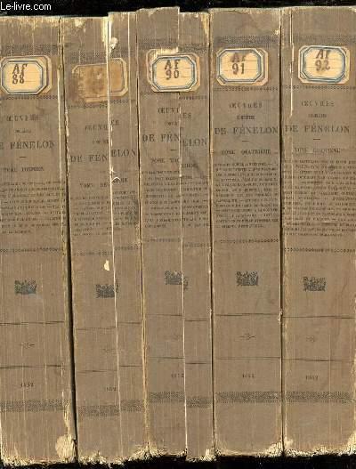 OEUVRES COMPLETES DE FENELON EN 10 TOMES (1+2+3+4+5+6+7+8+9+10).