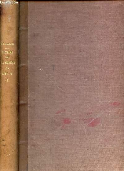 HISTOIRE ILLUSTREE DE LA GUERRE DE 1914 - TOME 6.