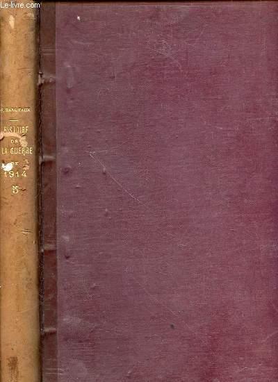 HISTOIRE ILLUSTREE DE LA GUERRE DE 1914 - TOME 5.