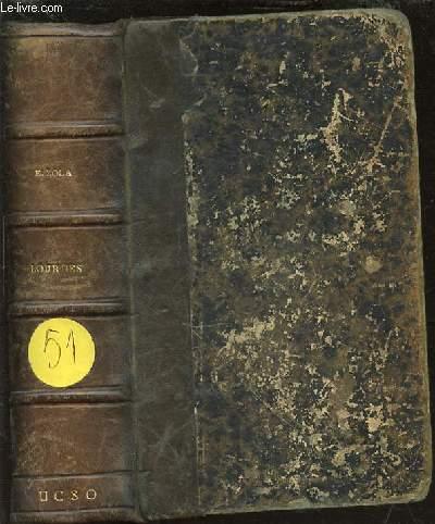 LOURDES - LES TROIS VILLES. BIBLIOTHEQUE CHARPENTIER.