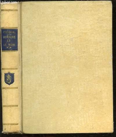 LE ROUGE ET LE NOIR ET ARMANCE - TOME 2. BIBLIOTHEQUE DE LECTURE DE PARIS.