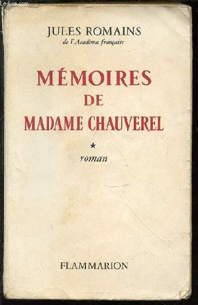 MEMOIRES DE MADAME CHAUVEREL.
