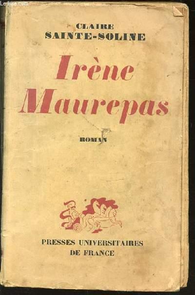 IRENE MAUREPAS - ROMAN.