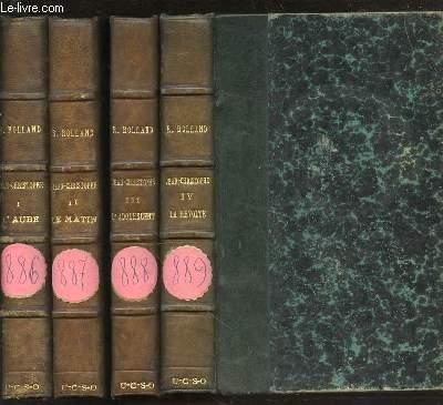 JEAN-CHRISTOPHE EN 4 TOMES : TOME 1 (L'AUBE) + TOME 2 (LE MATIN) + TOME 3 (L'ADOLESCENT) + TOME 4 (LA REVOLTE).