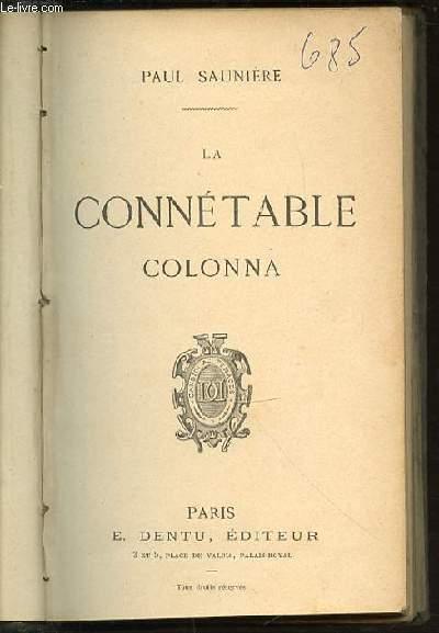 LA CONNETABLE COLONNA.
