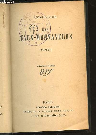 LES FAUX-MONNAYEURS - EDITION ORIGINALE.