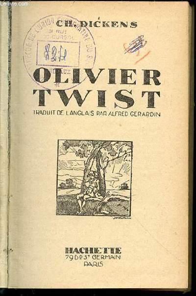 OLIVIER TWIST.