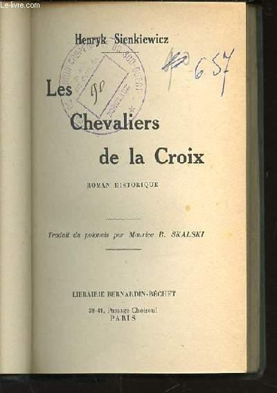LES CHEVALIERS DE LA CROIX.