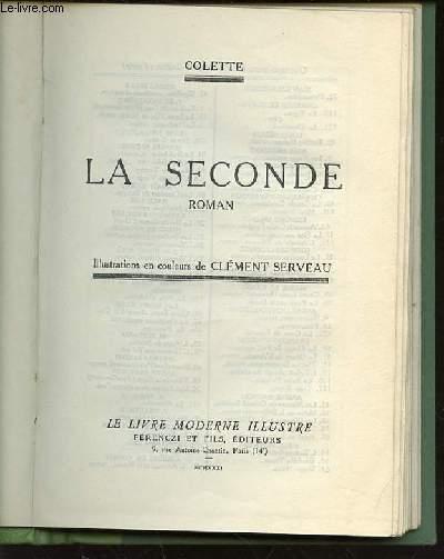 LA SECONDE - ROMAN.